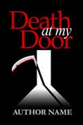 Book Cover Template: Mystery / Thriller: Death at my Door
