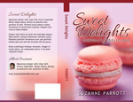 Book Cover Design Template Package - Sweet Delights