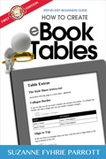 How to Create eBook Tables