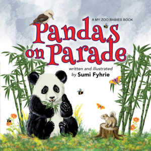 Panda's on Parade by Sumi Fyhrie